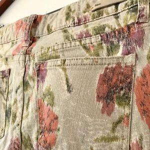 Anthropologie Pants - Pilcro floral print jeans